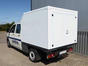 Leerkabine transporter GFK-Sandwichbau Platten Leerkabinenbau individuell