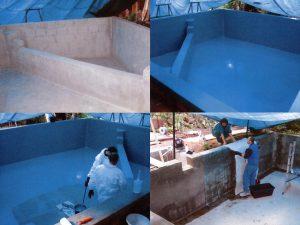 Pool Reparatur Schwimmbadbau Abdichtung Beschichtung